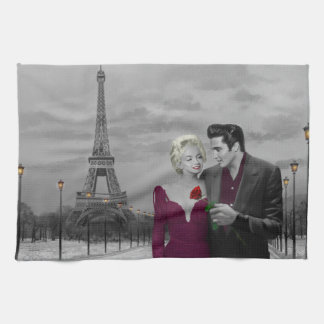 Paris B&W 2 Tea Towel