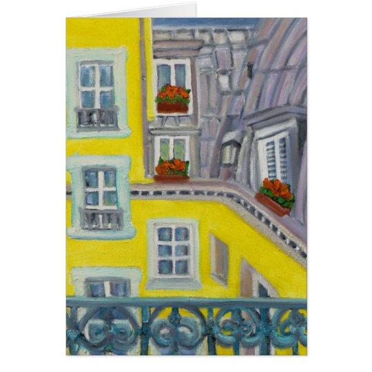 PARIS BALCONY CARD