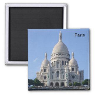 Paris - Basilique du Sacr�-Coeur - Magnets Pour Réfrigérateur