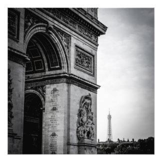 Paris Black & White Photo Print