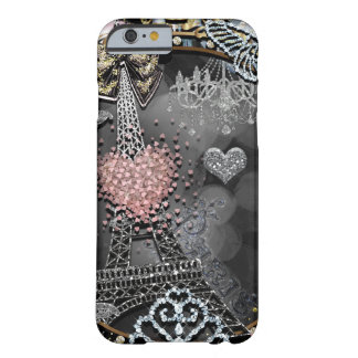 Paris Bling Glamour Sparkle France Girly Trendy Barely There iPhone 6 Case