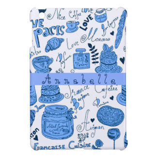 Paris Blue iPad Mini Cases