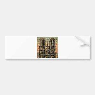 Paris Building Bumper Sticker
