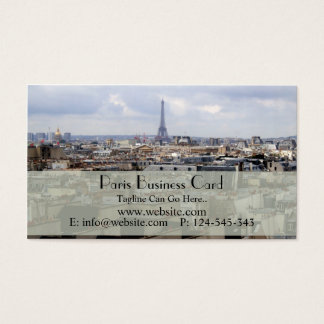 Paris Business Card