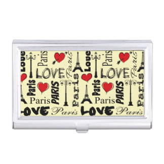 Paris Business Card Holder