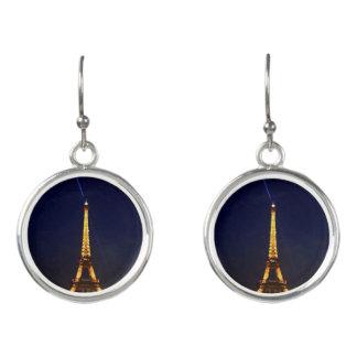 Paris by Night The Eiffel Tower Earrings