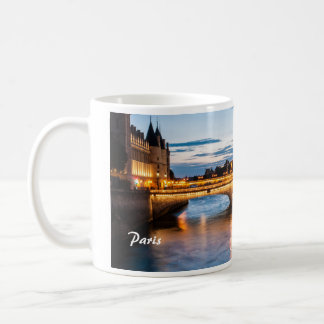 Paris by sunset coffee mug