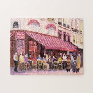 Paris Cafe Bar Jigsaw Puzzle