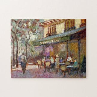 Paris Cafe Puzzle
