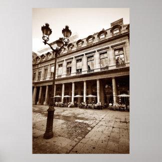 Paris Cafe Scene (III) Print