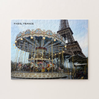 Paris Carousel (& Eiffel Tower) Puzzles