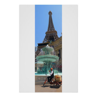 Paris Casino Las Vegas Poster