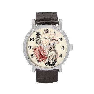 Paris Cat Wrist Watch