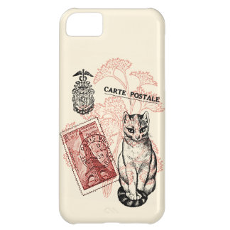 Paris Cat iPhone 5C Case