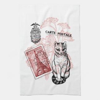 Paris Cat Towels