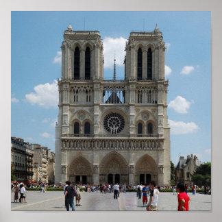 Paris - Cath�drale Notre-Dame - Affiches