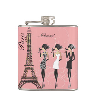 Paris Celebration Flask