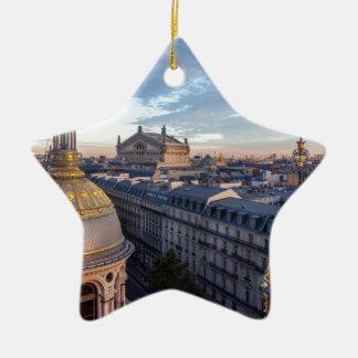 Paris Ceramic Star Decoration