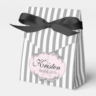 Paris Chic cute little personalized favor box