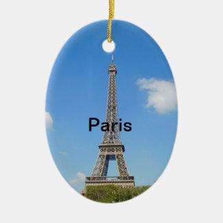 Paris Christmas Tree Ornament