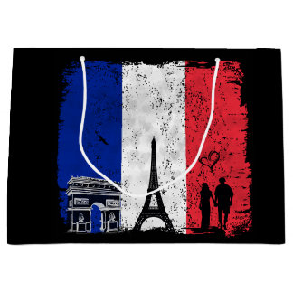 Paris city of love gift bag