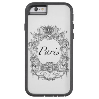 Paris : City of Love Illustration iPhone 6 Case