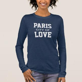 Paris City Of Love Long Sleeve T-Shirt