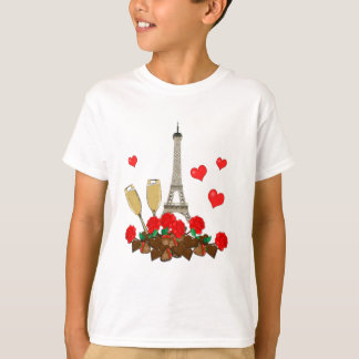 Paris, city of love T-Shirt