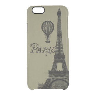 Paris Clearly Deflector iPhone 6 Case