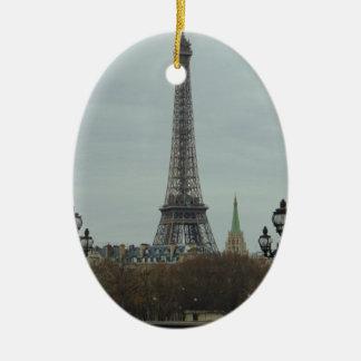 Paris Collection Ceramic Oval Decoration