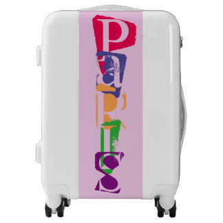 Paris Colors Luggage