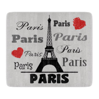 Paris Cutting Board