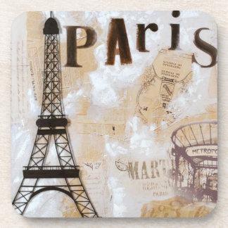 Paris Design Art Beverage Coasters