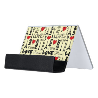 Paris Desk Business Card Holder