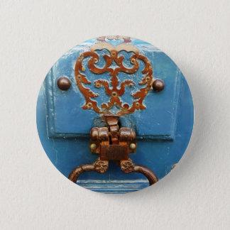 Paris door 6 cm round badge