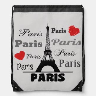 Paris Drawstring Bag