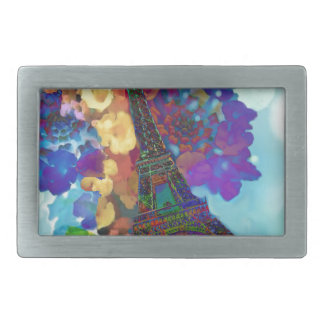 Paris dreams of flowers belt buckle