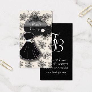 Paris Dressmaker Tailor Dress Fashion Boutique Business Card
