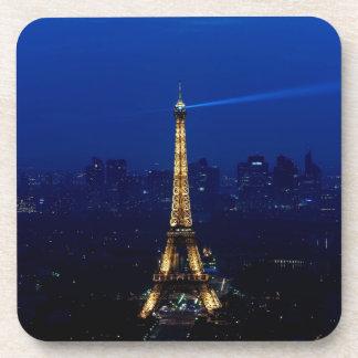 Paris Eifel Tower At Night Coasters