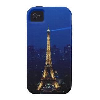 Paris Eifel Tower At Night iPhone 4 Case