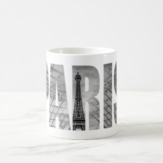 Paris - Eiffel & Louvre Coffee Mug