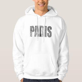 Paris - Eiffel & Louvre Hoodie