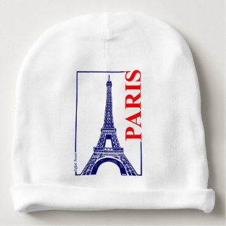 Paris-Eiffel Tower Baby Beanie