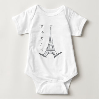 PARIS Eiffel tower Baby Bodysuit
