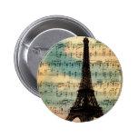 Paris Eiffel Tower Badges
