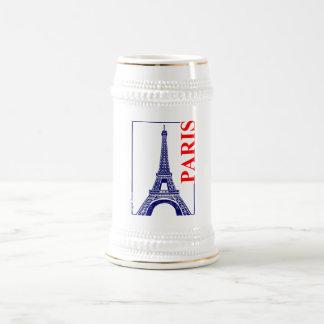 Paris-Eiffel Tower Beer Stein