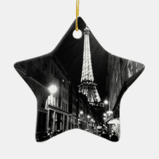 Paris, Eiffel tower Ceramic Ornament
