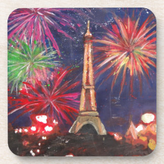 Paris Eiffel Tower City of Love with Silvester New Coasters