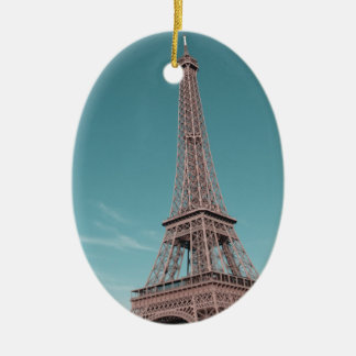 Paris Eiffel Tower Ornaments