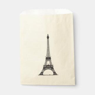 Paris Eiffel Tower Favour Bags